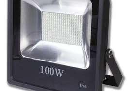 Reflector 100w Luz Blanca Multivoltaje