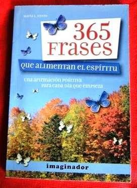 365 FRASES QUE ALIMENTAN EL ESPÍRITU MARÍA OTERO ED. IMAGINADOR en LA CUMBREPUNILLA