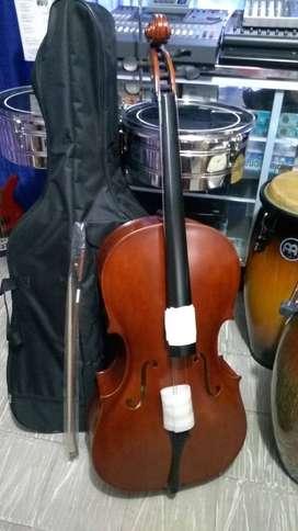 Cello Greko 4/4 con estuche y arco nuevo