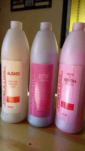 Keratina Botox y Alisado