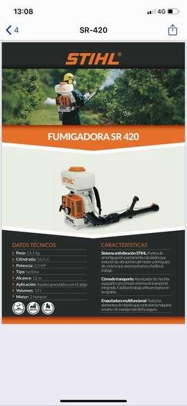 FUMIGADORA SR-420