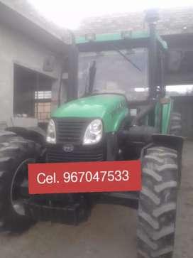 Vendo tractor agrícola YTO X754 de 75 hp 4x4 en la ciudad de Cajamarca ( precio a tratar)