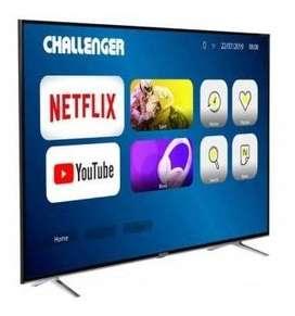 "Vendo TV TCL 65"" Pulgadas 164 cm Challenger 4K-UHD LED Plano Smart TV Android"