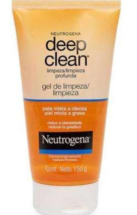 Gel limpiador facial neutrogena