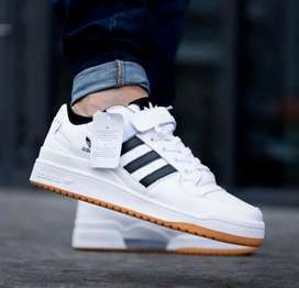 "Adidas forum low ""white/black"""