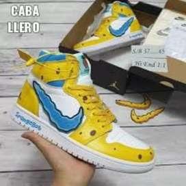 Tenis Nike Jordan Retro 1 Bob Sponja Caballero