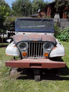 Jeep ika sin motor