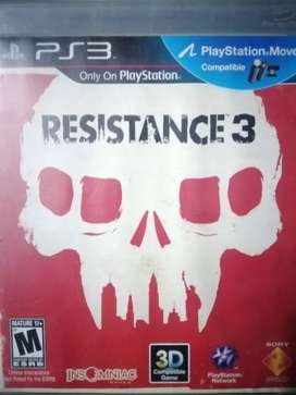 Resistence 3 fisico