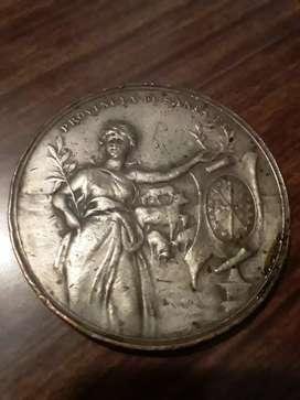Medalla antigua Sociedad Rural Santa Fe