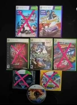 Juegos para xbox 360. Categoría infantil