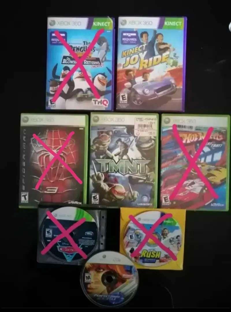 Juegos para xbox 360. Categoría infantil 0