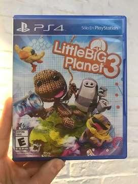 Little big planet 3  ps4