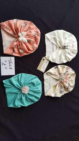 Lindos turbantes para bebés y niñas