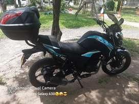 Vendo moto akt cr5 180 modelo 2017