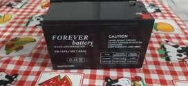 Batería 12v 7ah nueva