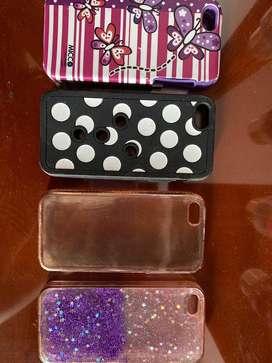 Carcasas para iphone 5s x4