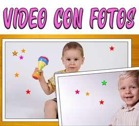 Video clip con fotos