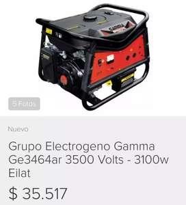 Vendo generador gamma 3500 watts