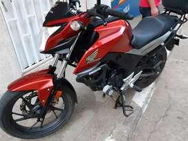VENDO HONDA CB 160 F DLX