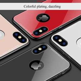Estuche Carcasa Protector Vidrio Templado Iphone X 7 8 y 8 Plus