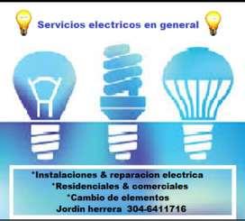 Tecnico electricista para la ciudad de cartagena bolívar