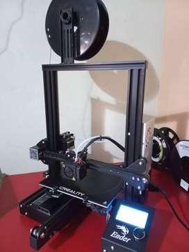 Vendo Impresora 3D Creality Ender 3 en excelentes condiciones