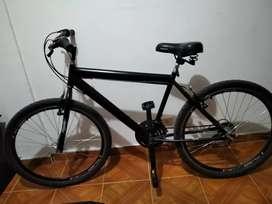 Bicicleta cross negro mate