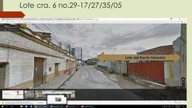 SE VENDE ESPECTACULAR LOTE ESQUINERO 1113 m2 BARRIO GIRARDOT 1.