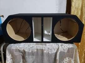 Caja para audio car