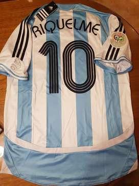 Camiseta Riquelme argentina 2006 nueva
