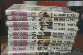 Manga Bleach 1 Al 10. Usado.