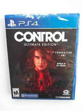 Juego Control Ultimate Edition Ps4 Nuevo Y Sellado