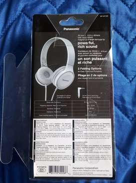 Audífonos panasonic clear sound