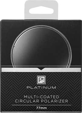 Filtro Polarizador Circular 77mm PLATINUM