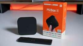Android Tv Box 4k Xiaomi Mi Box S Chromecas Smart Tv 2020