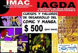 CURSO DE DIBUJO/COMIC/MANGA
