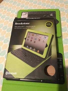 Teclado Con Bluetooth Para iPad 2 o Tablet