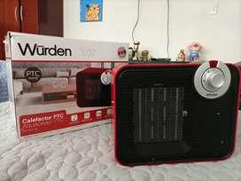 Calefactor PTC marca Wurden