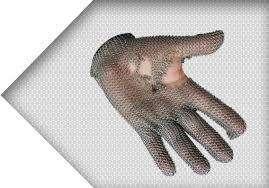 reparación de guantes de acero