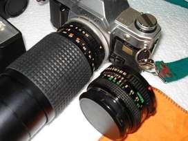 Maquina de fotos CANON AT-1   Profecional funcionando perfectamente