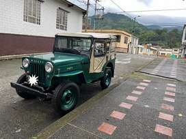 SE VENDE JEEP WILLYS MODELO 1961