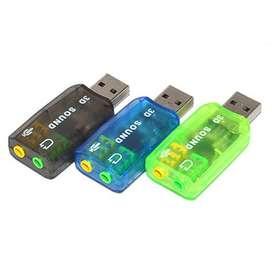 TARJETA DE SONIDO 5.1 USB 2.0