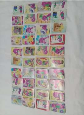 Juego de cartas de Barney y Memoria