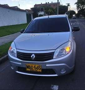 Renault Sandero 2012 Autentique 85200 kms . Sin aire acondicionado , vidrios eléctricos delanteros , Soat y tecno enero