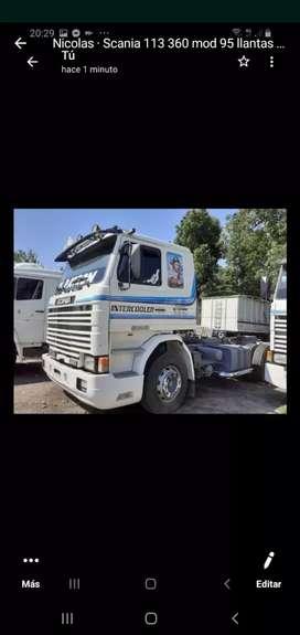 Scania 113 360 mod 95 chacis largo tablero embolvente
