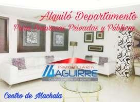 Alquiler de Departamento de oportunidad Centro de Machala