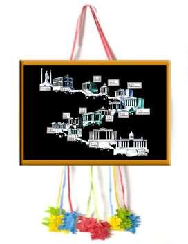 piñatas 12 casas del zodiaco