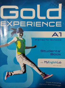 Libros de inglés gold experiencie A1