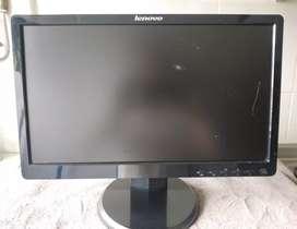 Monitor Lenovo lcd 17 plg rectangular