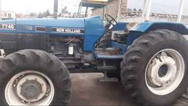 Se vende tractor Newholiand año 98
